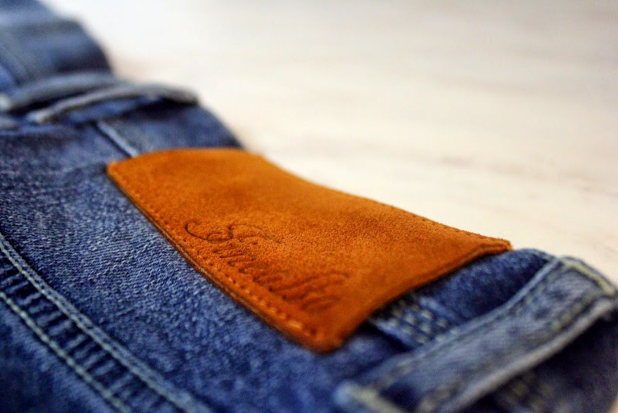 Finealta light colored denim