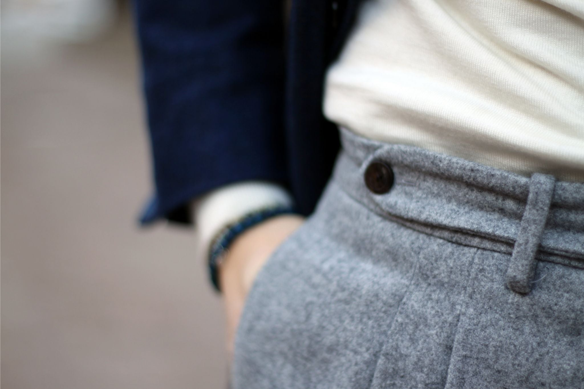 Finealta trouser details