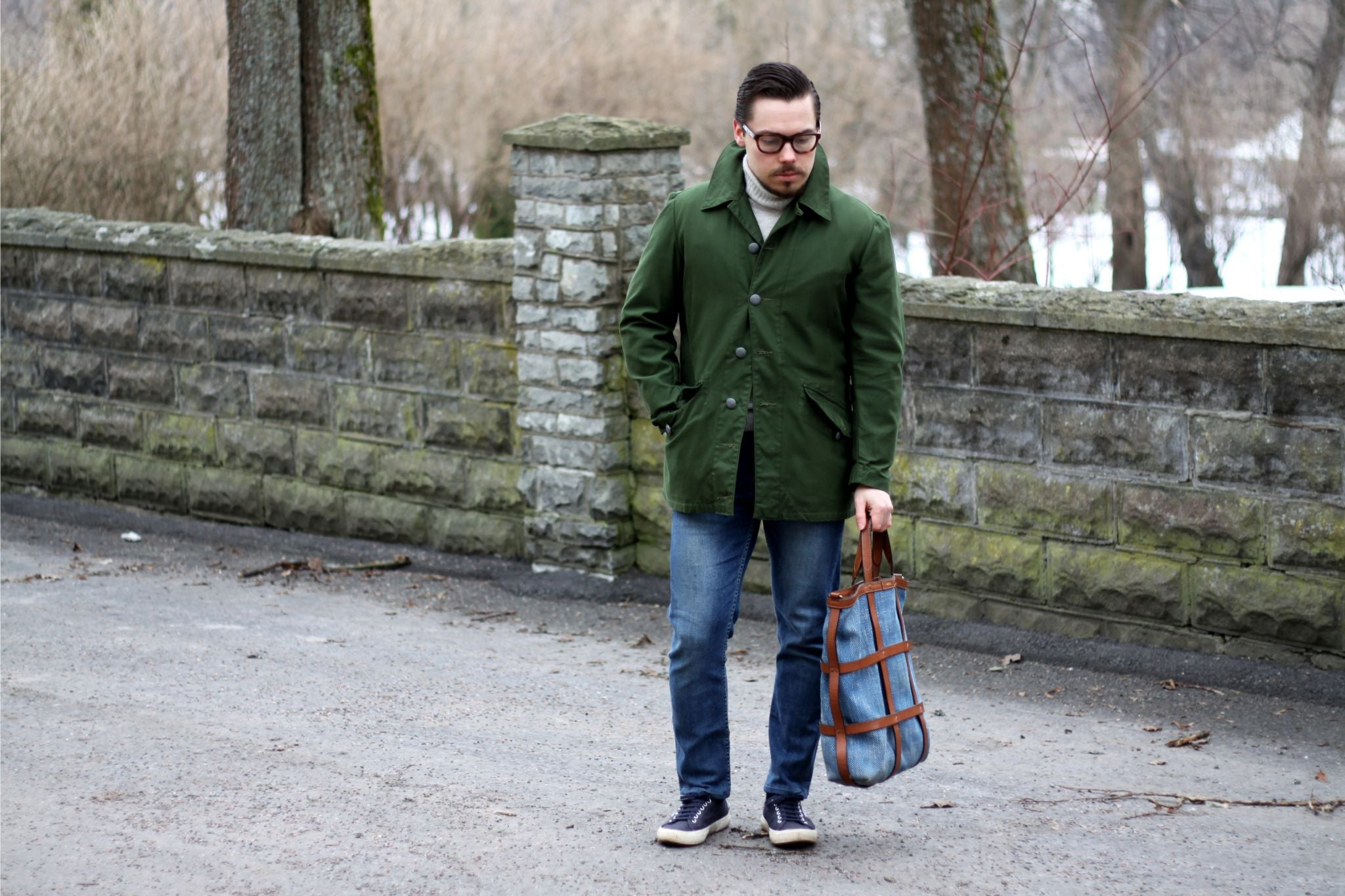 M59 field jacket - How to wear it with denim and sneakers