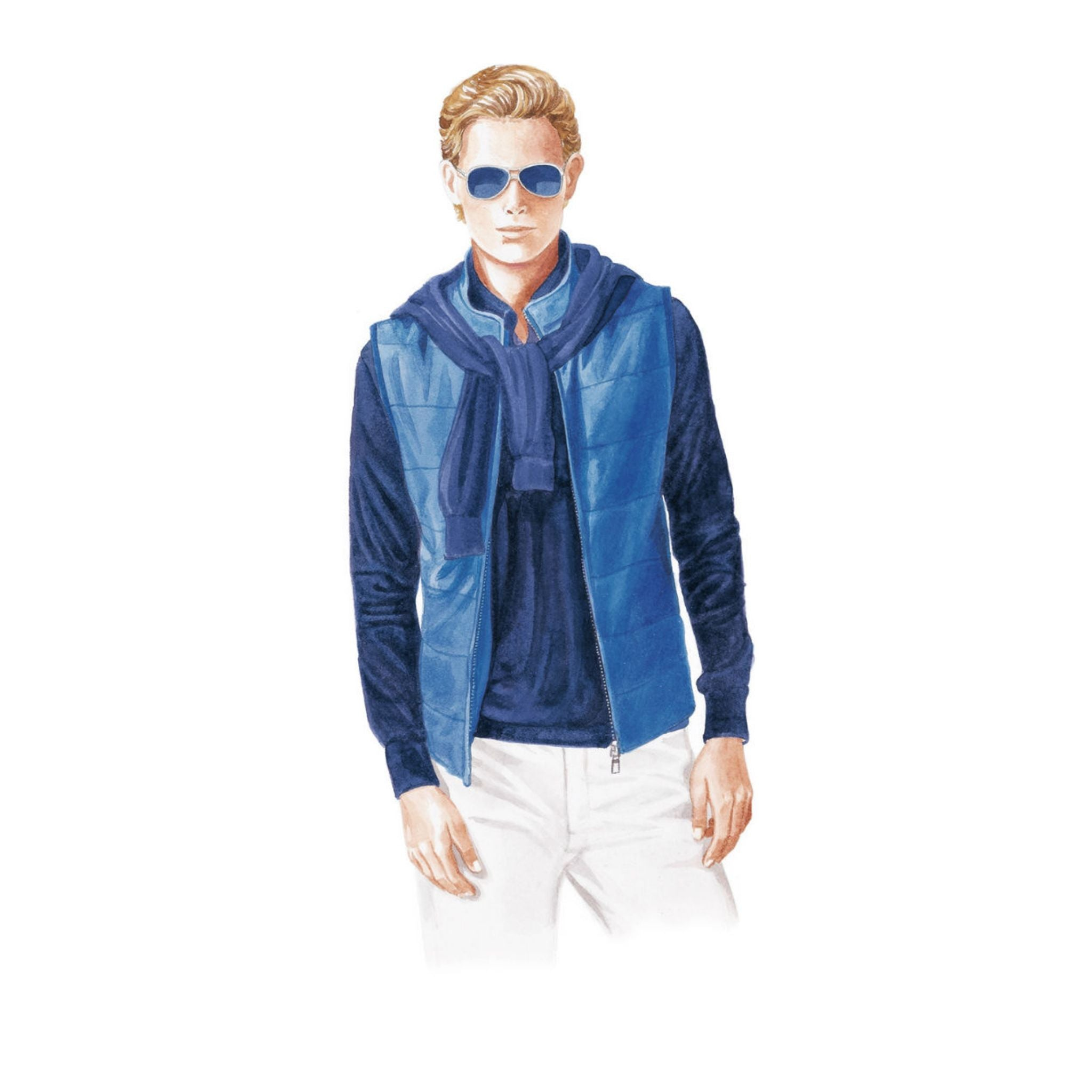 Loro Piana spring and summer 2016 sport vest
