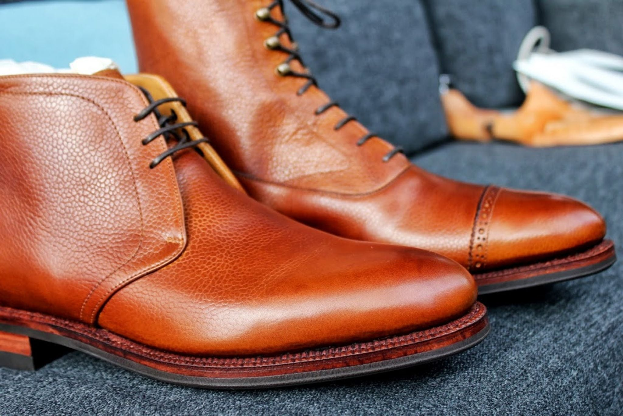 Meermin shoes - pebble grain boots