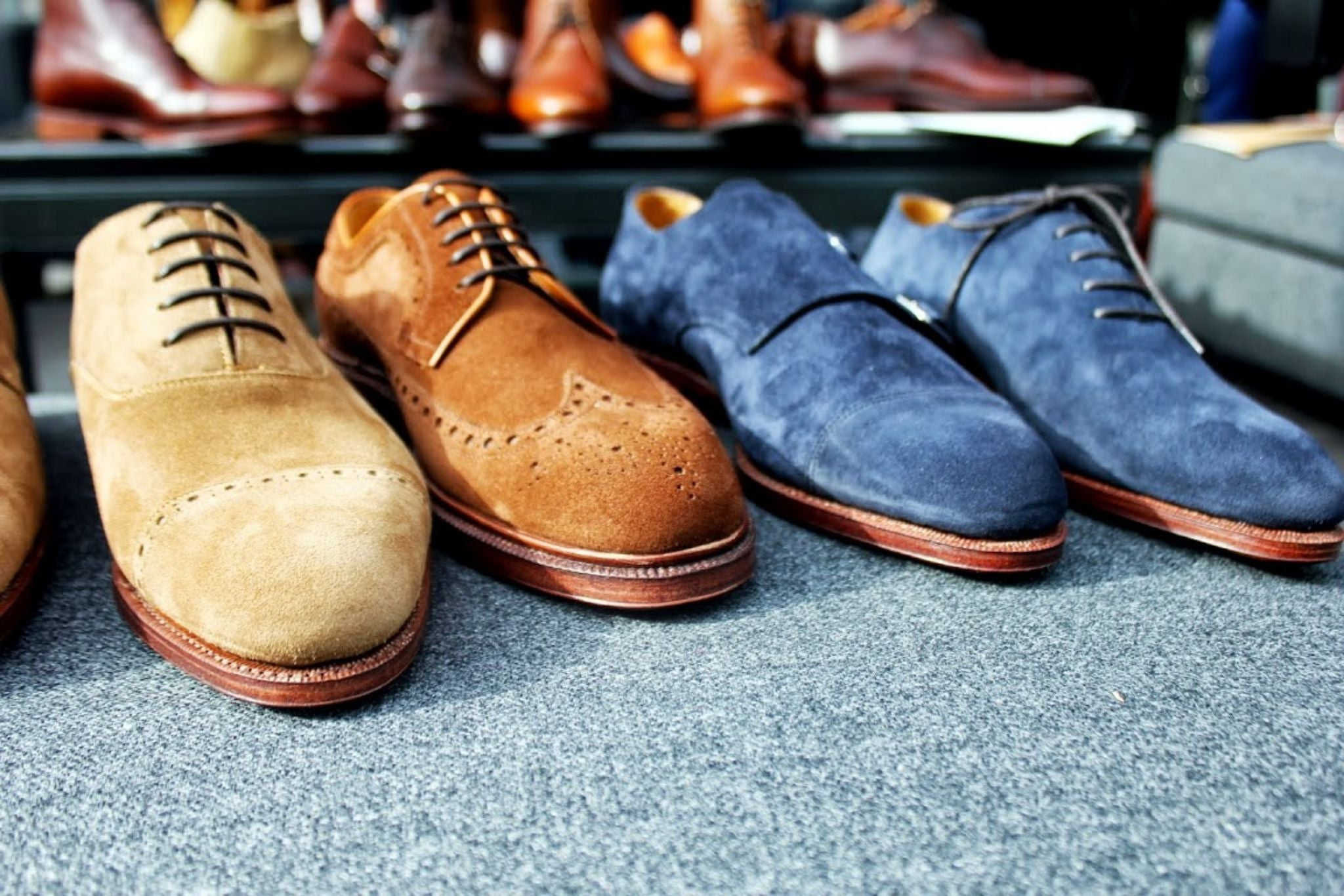 Meermin shoes - suede shoes