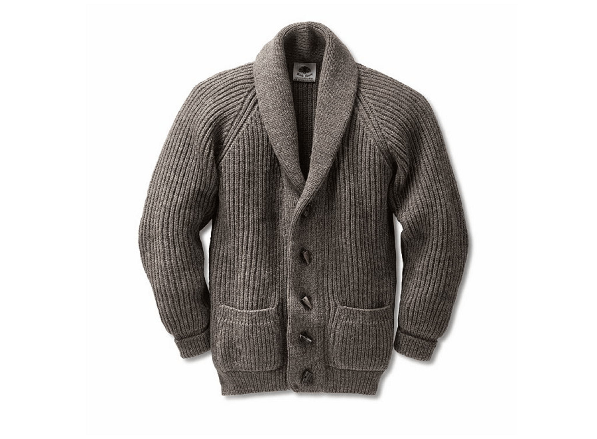 Manufacture shawl collar cardigan