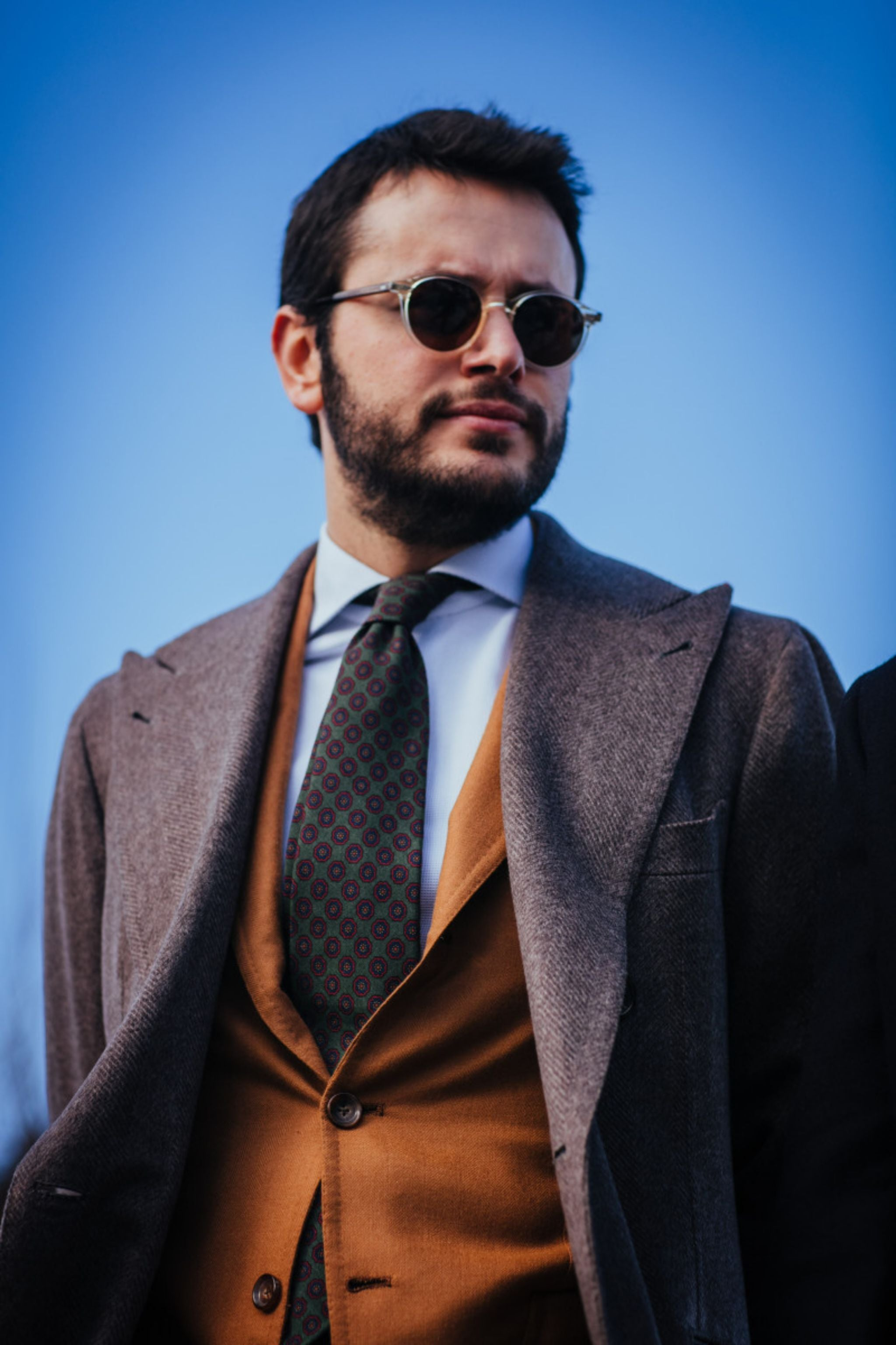 How to tie your tie - Pitti Uomo 89 - Fabio Attanasio