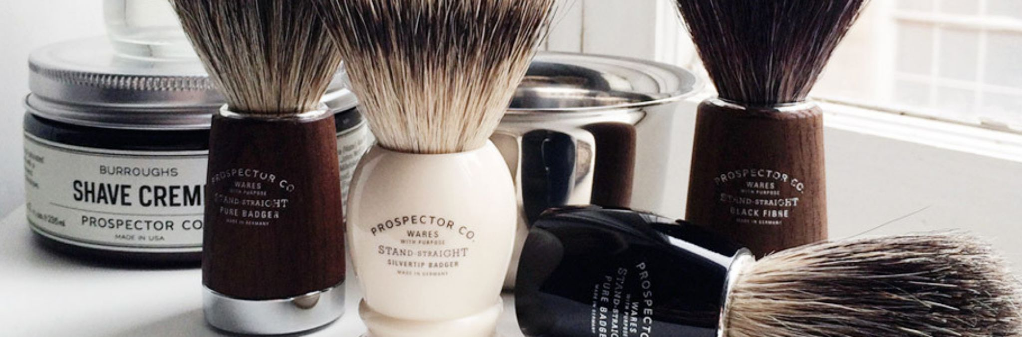 Prospector Co shaving products