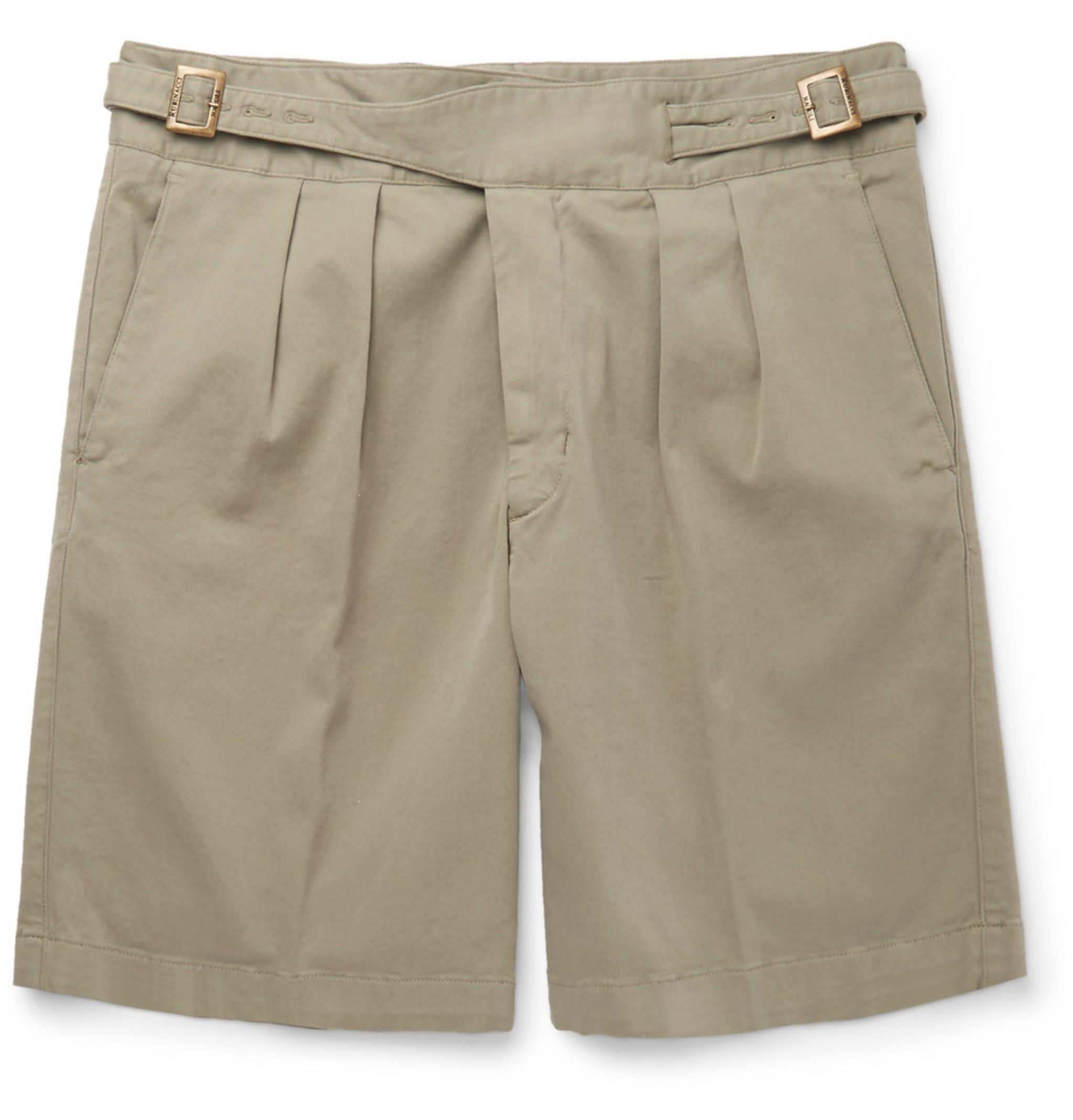 Shorts for summer - Rubinacci pleated Ghurka shorts
