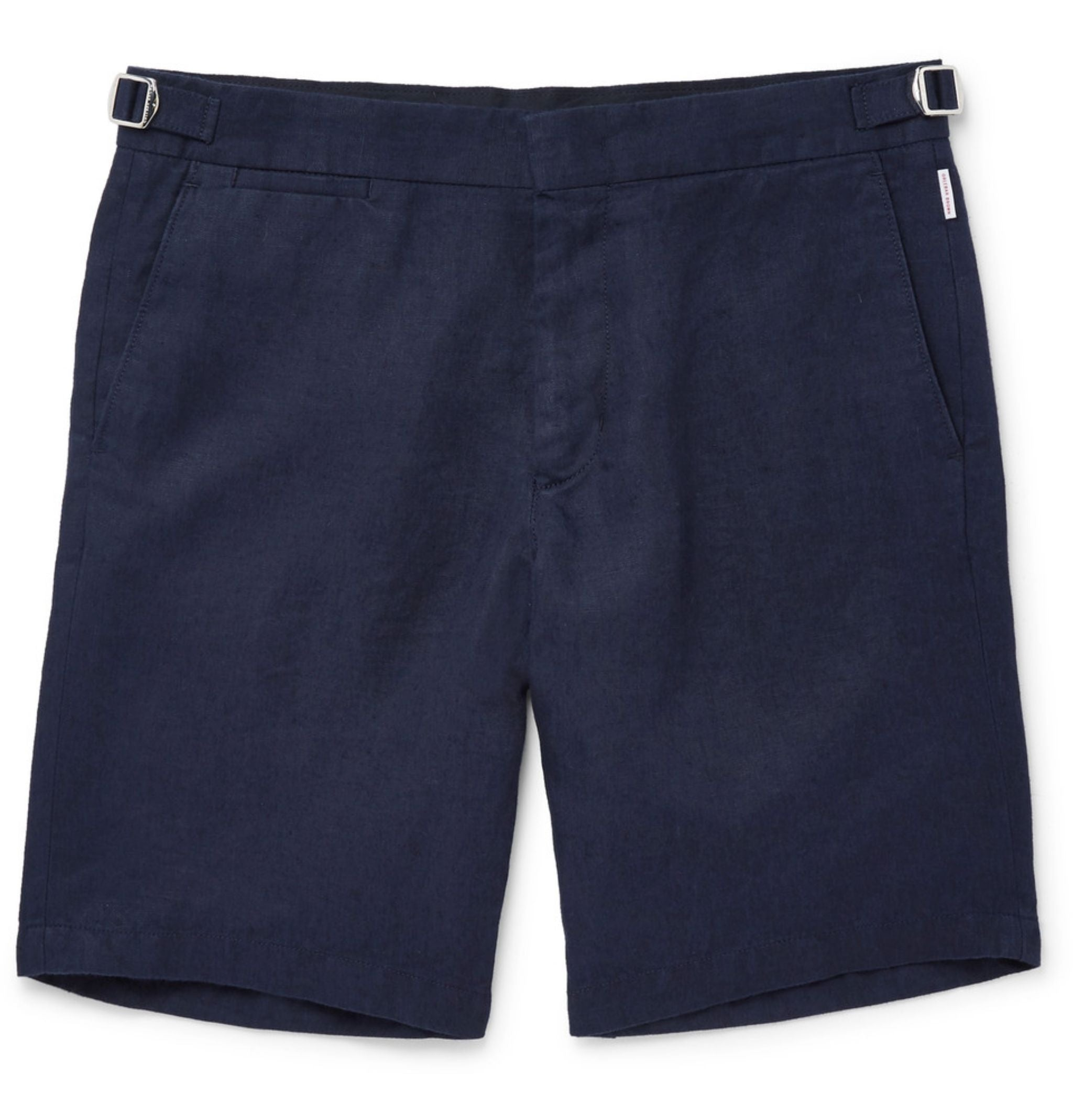 Shorts-for-summer-classic-navy-blue-cotton-shorts by Orlebar Brown