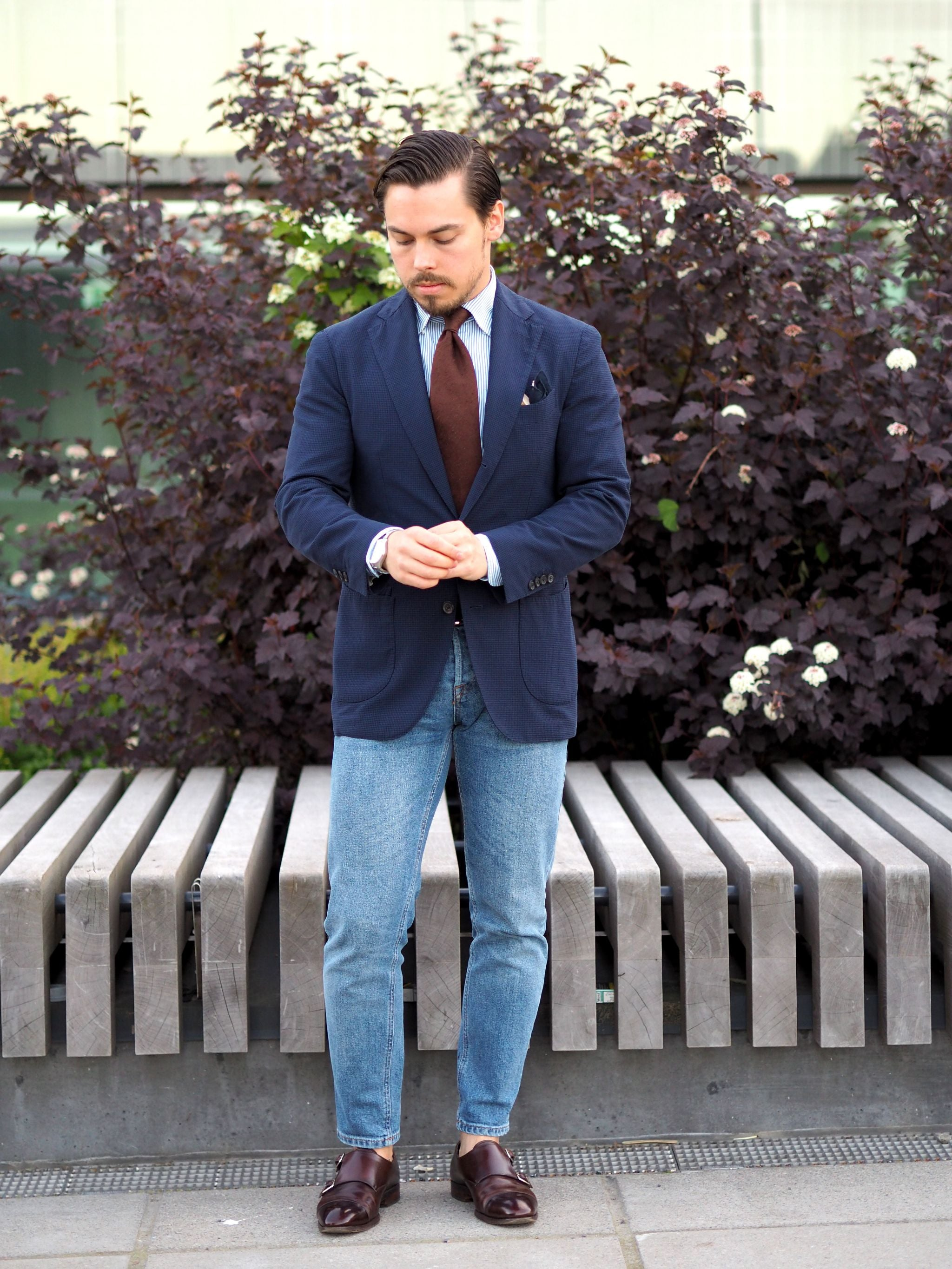Sport coat with jeans - Casual - yet dressed-up