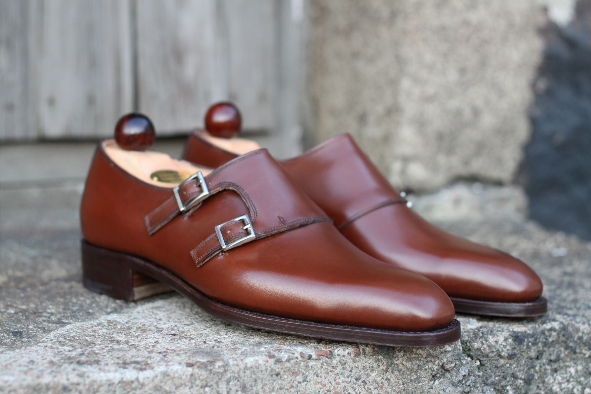 Vass Shoes - U-last monk shoes