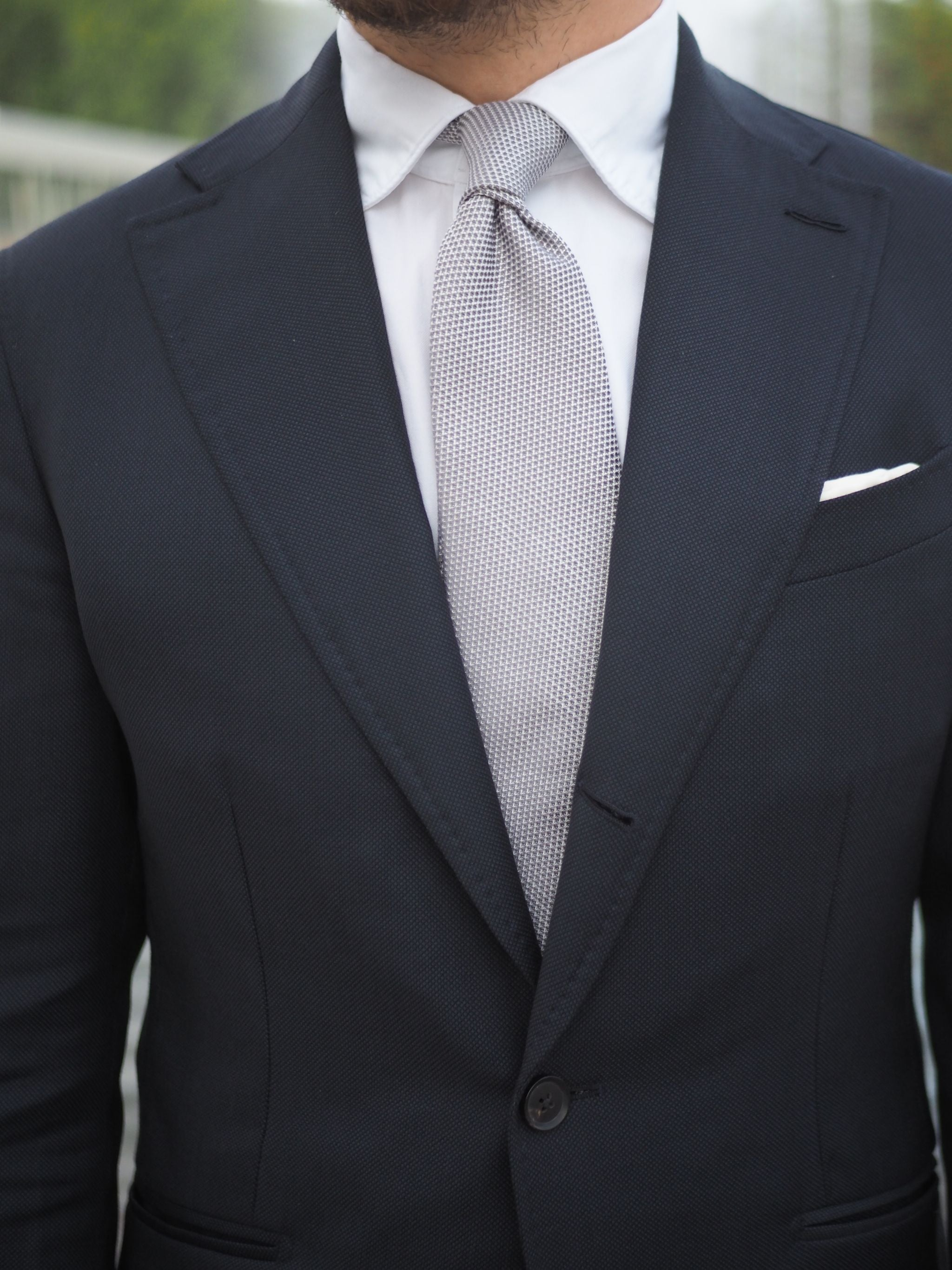 What to wear for wedding party - always go with a white shirt.