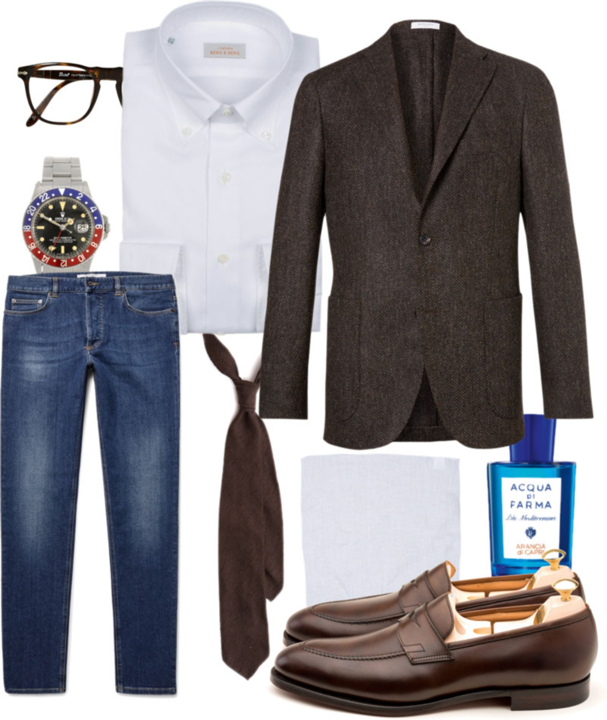 Brown-sport-coat-with-jeans-and-loafers
