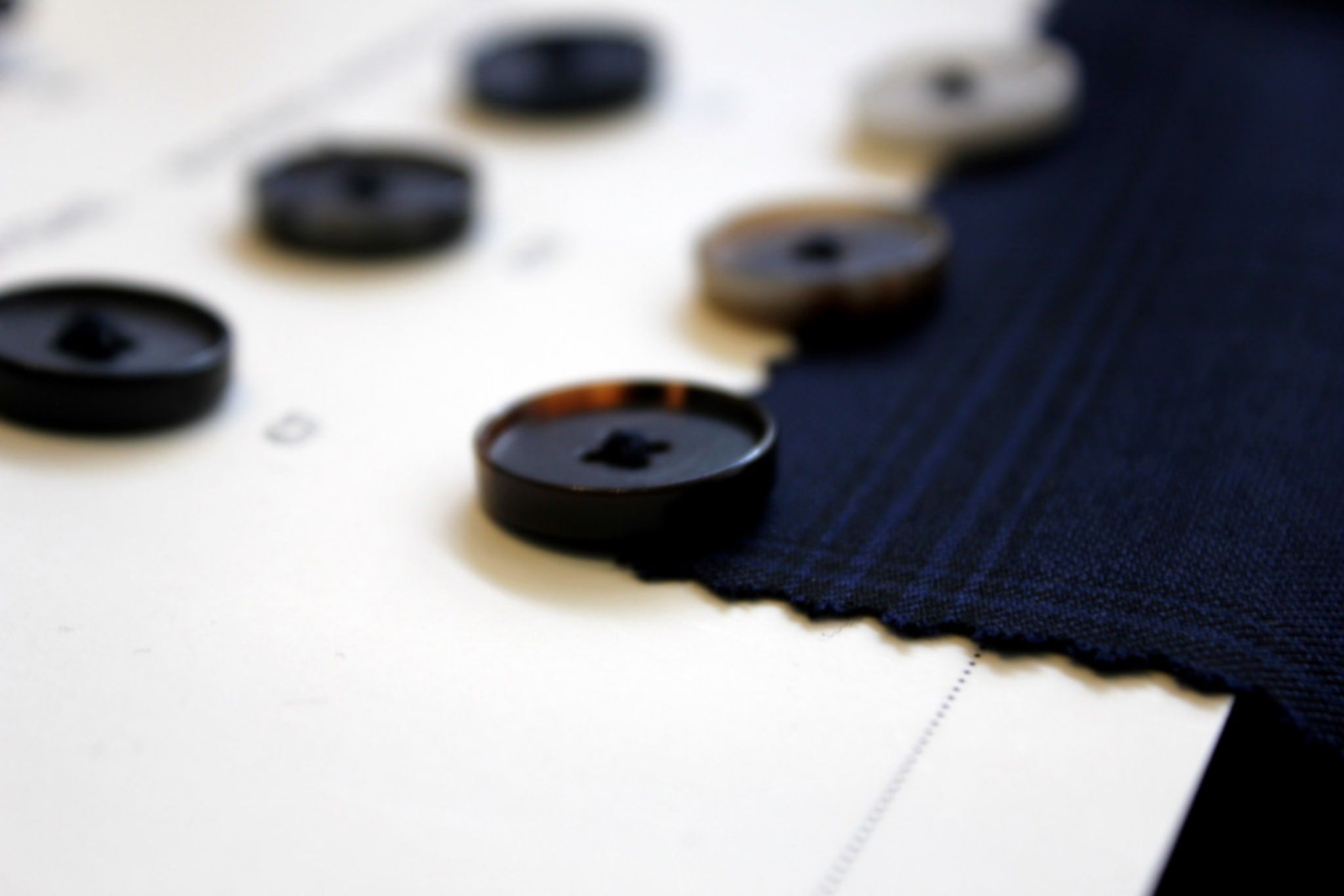 How to buy made-to-measure suit - choosing the buttons and other details