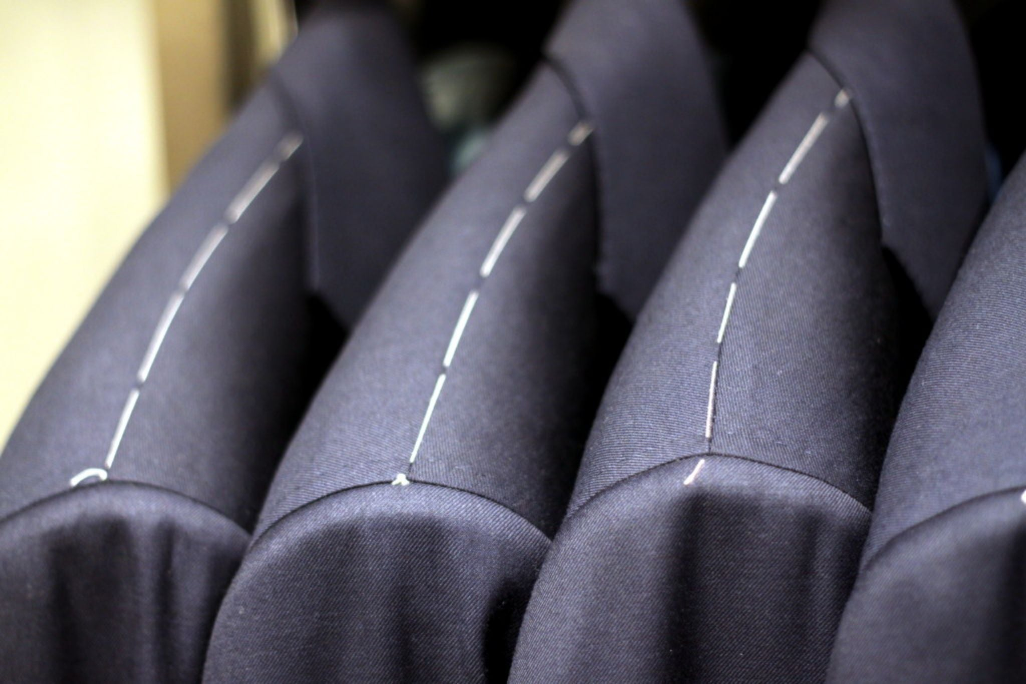 How to buy made-to-measure suit - trial suits are used to find the right size
