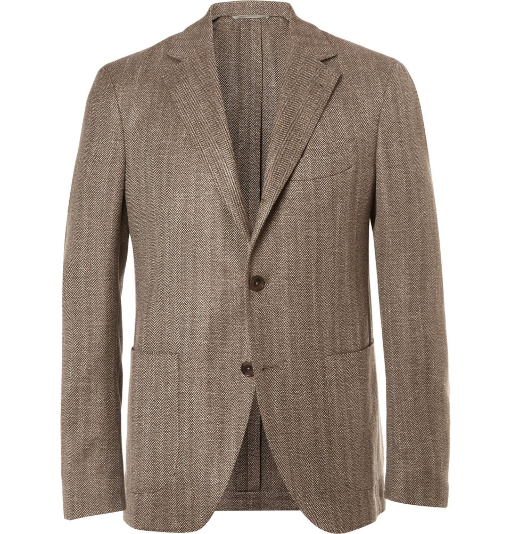 Sport coat for spring and summer - herringbone sport coat by Etro