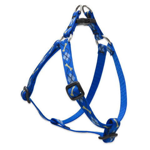 Lupine Dapper Dog .5 Inch Wide Step In Harness 10 To 13 Inches