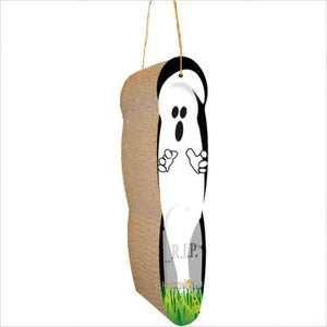 Ghost Hanging Cat Scratcher