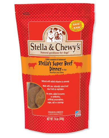 Stella & Chewy's Freeze Dried Patties Beef 14oz