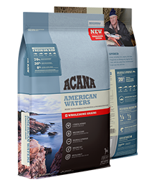 Acana Dog Wholesome Grains Regionals American Waters 22.5 lb