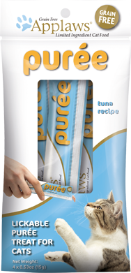Applaws Cat Purées Tuna 4 Ct Pouch
