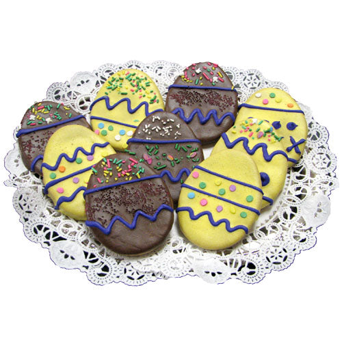 EasterEgg Doggie Cookie - New England Dog Biscuit - Bag of 4