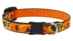 "Lupine Wicked Cat Collar 1/2"" 8-12"" Adjustable"