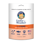 Under The Weather L-Lysine For Cats Chewy Treats 60