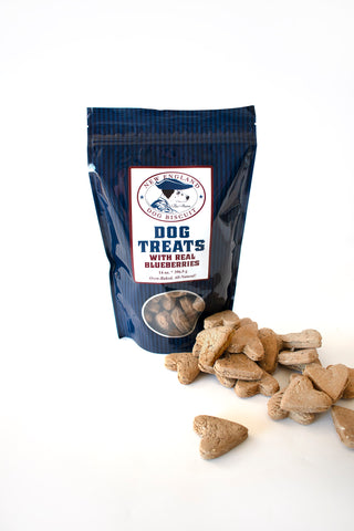Blueberry Biscuits - New England Dog Biscuit