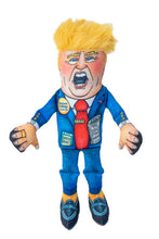Load image into Gallery viewer, Fuzzu Political Parody Trump Small Dog Toy