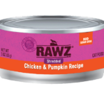 Shredded Chicken & Pumpkin Canned Cat Food Case Of 24 5.5 Oz Cans