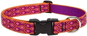 "Lupine Alpen Glow Dog Collar 3/4"" 9-14"""