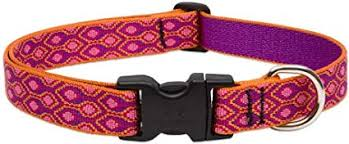 "Lupine Alpen Glow Dog Collar 3/4"" 9-14"