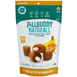 Pill Buddy Naturals Peanut Butter & Banana 30ct