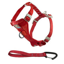 Load image into Gallery viewer, Kurgo Tru-Fit Enhanced Strength Car Smart Harness - Large Red