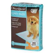 Clearquest Value Puppy Pads 30 Per Bag