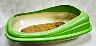 Beco Cat Litter Tray Green