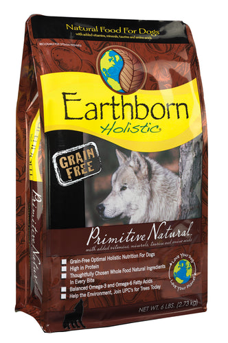 Earthborn Dog Grain-Free Primitive Natural 5lb