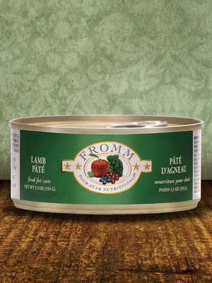 Fromm Cat 4Star Lamb Pate Case Of 12/5.5 Oz Cans