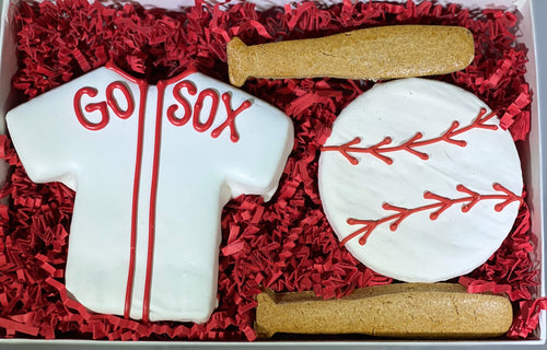 Gift Box - Baseball - New England Dog Biscuit Company