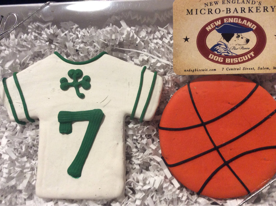 Gift Box - Basketball - New England Dog Biscuit