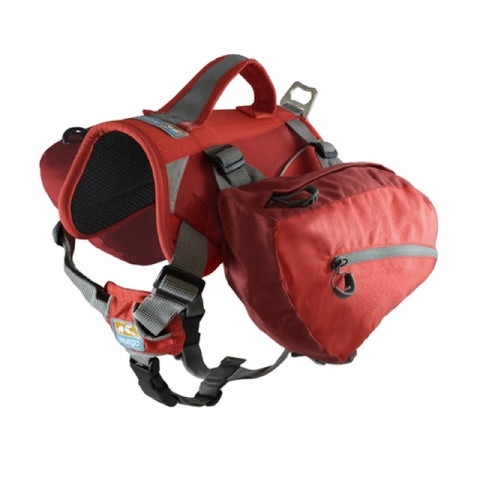 Kurgo Big Baxter Pack Barn Red (50-110lb)