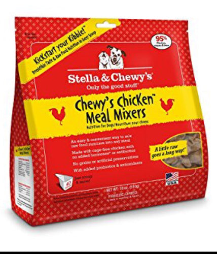 Stella & Chewy's Meal Mixers Chicken 18oz