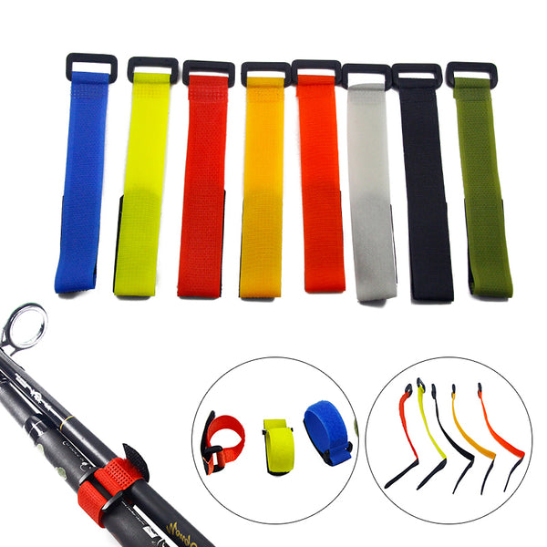 Reusable Fishing Rod Tie Holder Strap