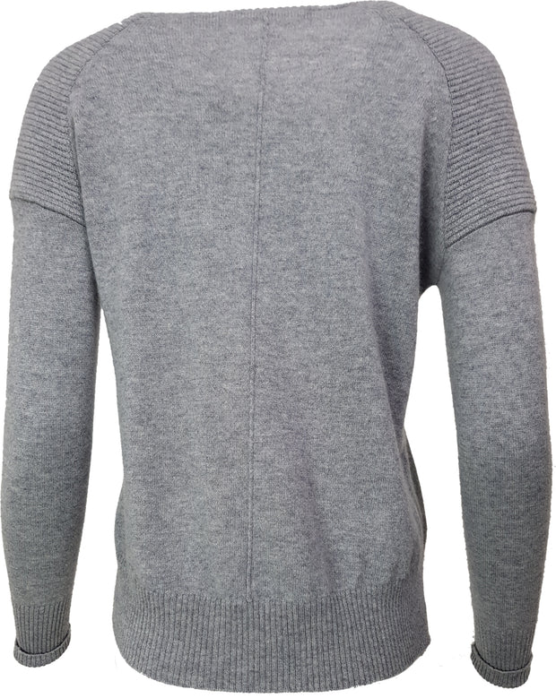 G&B Biker Shoulder Cashmere Jumper