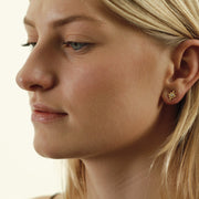Dansk star post Earring N01