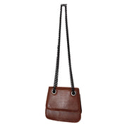 Mini Croco Print Hand bag