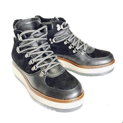 Leather Walking Boots by Moow