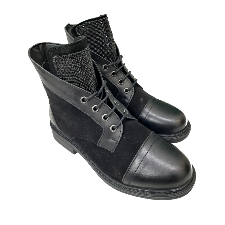 BI-Leather Ankle Boots