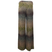 Wide legs Spark Printed Trousers