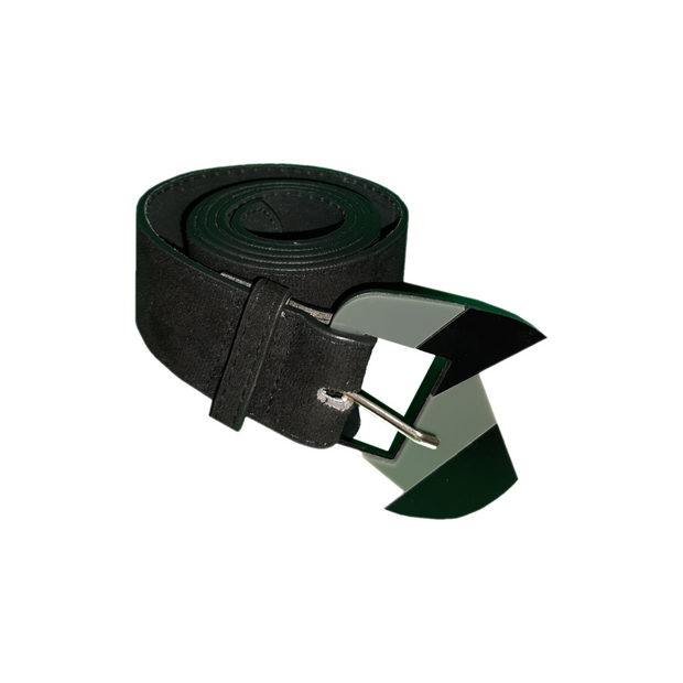 Two Tone Buckle Belt