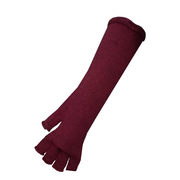 Fingerless Knit Long Gloves